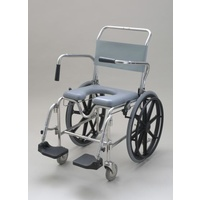 Otto Bock Transporter Commode Chair - 46cm - Footplate (Self Propelled)