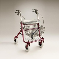 Rollator / Four Wheel Walker - Shopper