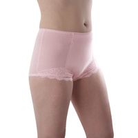 Chantilly Ladies brief Pink Size 18