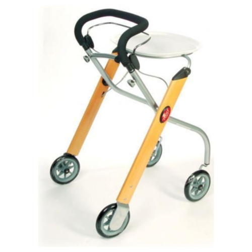 Trust Care Indoor Rollator / Walker Beech
